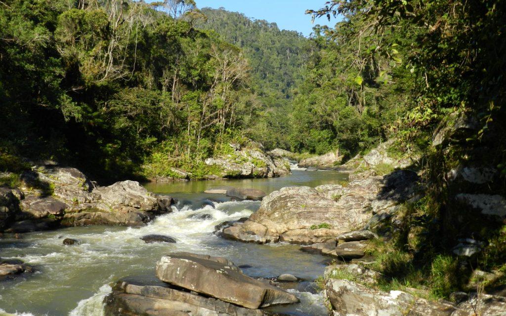 Namorona river in Ranomafana